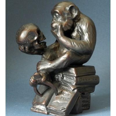 "RHE01 Statueta ""Maimuta..."