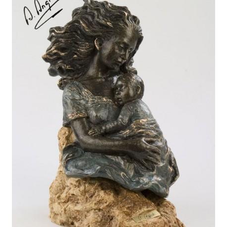 """181 - Statueta """"DORMIND CU MAMA"""""""