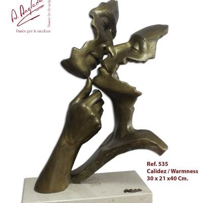 """535 - Statueta """"CALDURA"""""""