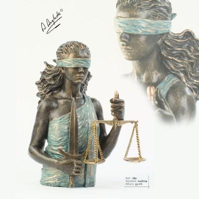 """189 - Statueta """"JUSTITIA"""""""