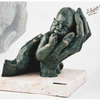 """260 - Statueta """"PRIMUL MEU..."""