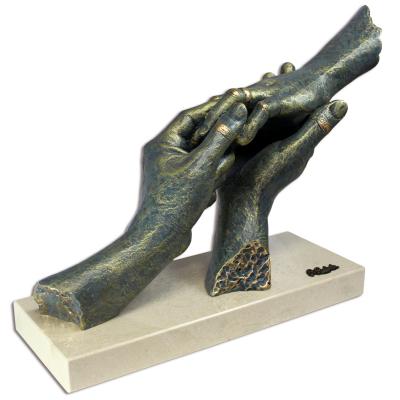 """545 - Statueta """"Pentru..."""